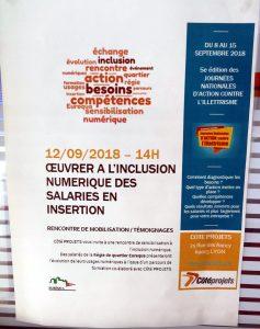 inclusion numérique des salariés en structures d'insertion