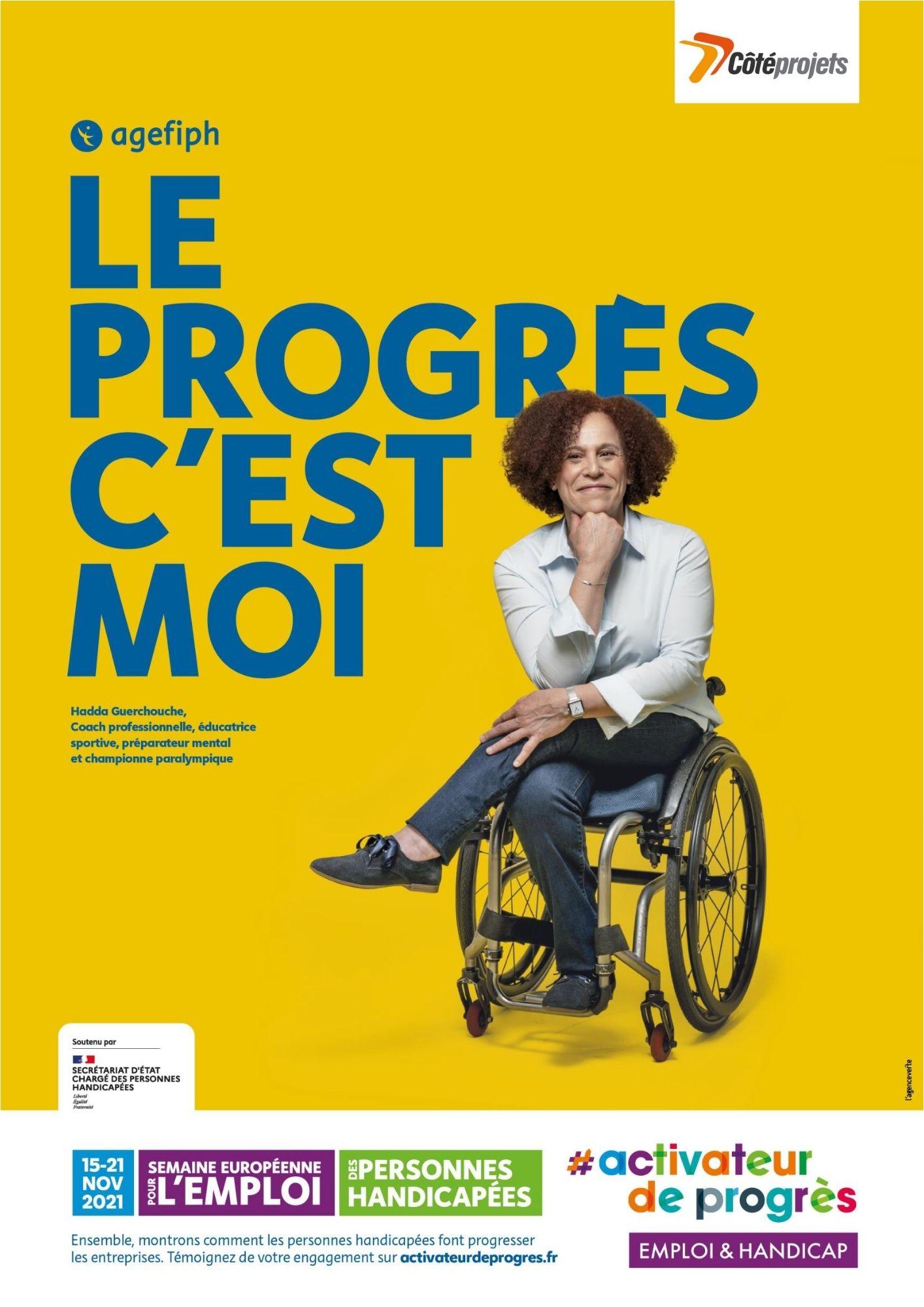 Côté Projets, validation de notre engagement comme Activateur de progrès pour l'emploi et le handicap